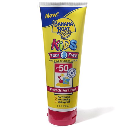 Camp and Hike Protect your children from harmful sun rays with no-fuss Kids' Tear Free sunblock from Banana Boat. - $8.93