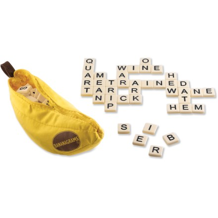 Entertainment The Bananagrams anagram game will drive you and your friends bananas! It requires no pencil, paper or board and provides educational family fun. - $11.93