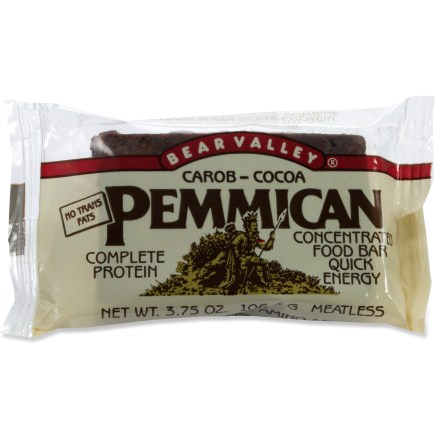 Camp and Hike This concentrated natural food bar with all eight essential amino acids for complete protein offers fast energy. - $2.00