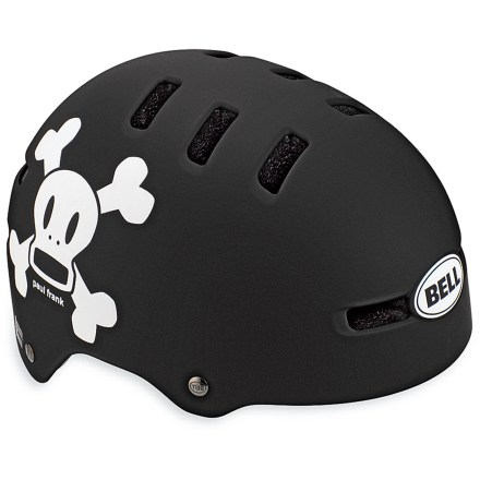 Fitness The Bell Fraction kid's helmet sets a new standard in skate-inspired helmets.  This one has it all-style, fit and comfort. - $19.93