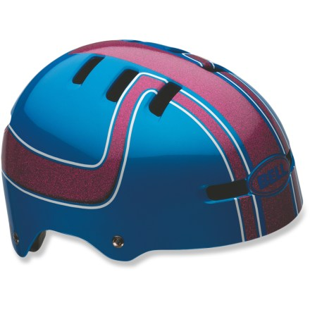 MTB The Bell Fraction kids' helmet sets a new standard in skate-inspired helmets. This one has it all-style, fit and comfort. - $21.93