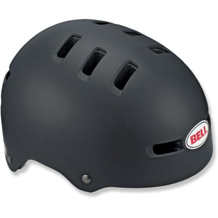 BMX The Bell Faction bike helmet provides excellent protection that won't let you down, along with street-smart style that never looks out of place. Setting a new standard in skate-inspired helmets, this one has it all- style, fit and comfort. Impact-resistant ABS hard plastic shell covers the EPS foam liner for superior protection when you go endo. Twelve strategically placed vents keep you cool. - $32.93