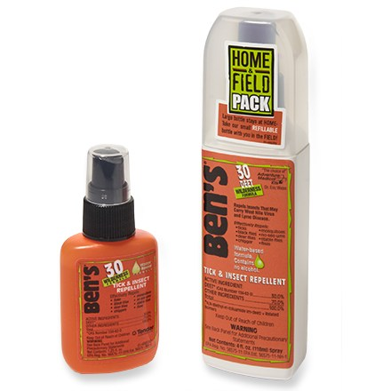 Camp and Hike You'll enjoy the outdoors more this summer if you're not swatting flies and mosquitoes; Ben's 30% DEET Wilderness Formula saves the day! - $5.93