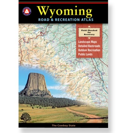 Camp and Hike The Wyoming Road and Recreation Atlas provides a true, authoritative reference. Plan your next adventure using this complete map resource. - $10.93