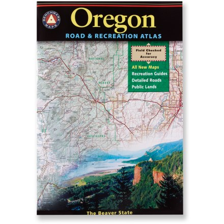 Camp and Hike Updated with all-new maps, the Benchmark Maps Oregon Road and Recreation atlas provides an accurate, authoritative reference for your next adventure in the Beaver state. - $22.95
