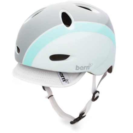MTB The Bern Berkeley is a women-specific bike helmet that is lightweight, low profile and versatile-and oh, did we mention cool-looking? - $36.93