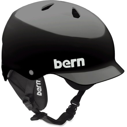 Ski The Bern Watts Snow helmet is easily transitions from summer rides to ski ascents thanks to its removable winter liner. - $69.73