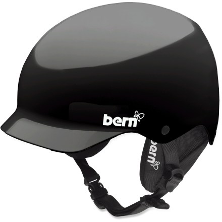 Ski The Bern Muse multisport helmet for women offers protection from thrilling spills. Lightweight ABS shell with expanded polystyrene enhances impact protection. SINK FIT(TM) helmet design features a low profile so helmet doesn't feel like it's floating above your head. Features a winter liner to keep you cozy on cold days-removes easily for warm-weather antics. Rear clip keeps goggles strap from sliding. The Bern Muse multisport helmet features an adjustable chin strap that keeps the helmet firmly in place. Helmet meets ASTM F 2040 standard for snow and ski use, and CPSC and EN 1078 for bike and skate use. Special buy. - $44.83