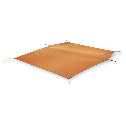 Camp and Hike Use this ripstop polyester footprint underneath your Big House 6 tent to protect floor from wear and abrasion. Sized to fit so that it prevents pooling of water under tent during wet weather. Footprint will add 9 - 14 oz. to your pack depending on tent model. - $39.93