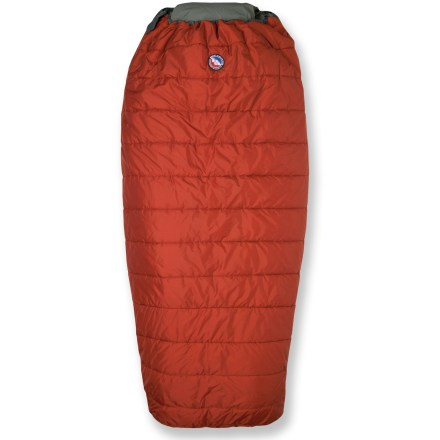 Camp and Hike From Big Agnes, the Buffalo Park sleeping bag is perfect big guys or for car campers that want more room. - $94.93