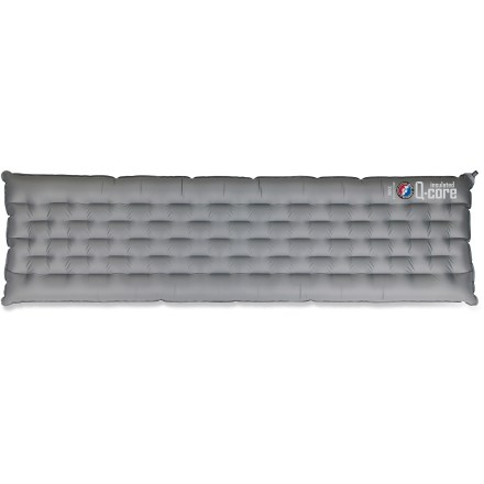 Camp and Hike This Big Agnes Insulated Q-Core sleeping pad blends supportive construction and synthetic insulation for an incredibly comfortable sleeping surface on the cold, hard ground. - $144.93