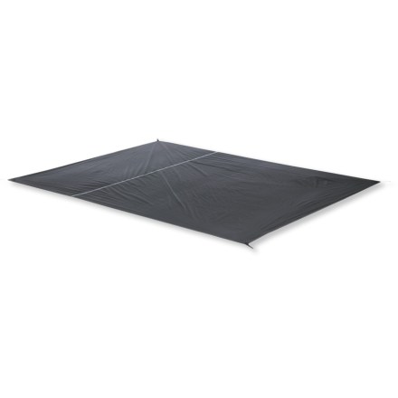 Camp and Hike This footprint fits perfectly under the Big Agnes Lynx Pass 3 tent to protect its floor from wear and abrasion. Sized to fit so that it prevents pooling of water under tent during wet weather. Webbing stake-outs at tent corners provide easy attachment. Closeout. - $19.73