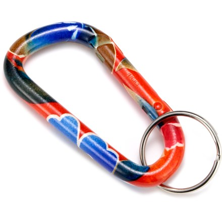 Climbing A stylish and unique way to manage your keys! These painted carabiners have different themes to suit your mood. - $6.25