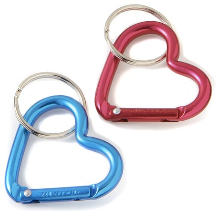 This trusty carabiner-style clip makes it easy to attach your keys to a strap or belt loop. - $2.93