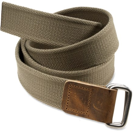 The Bison Designs Solid Rec D belt adds a touch of subtle style to your everyday wear. - $8.83