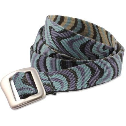 Perfect for everyday wear, the Bison Designs Millenium belt features colorful patterns to spice up your style. - $3.83