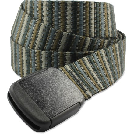 The Bison Designs T-Lock belt adds a touch of color to your outdoor clothing. - $19.00