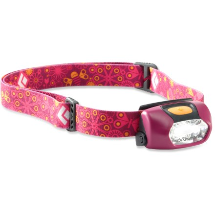 Camp and Hike Don't leave out the kids! The 2010 Black Diamond Wiz headlamp lets youngsters enjoy hands-free lighting, just like the adults! - $13.93