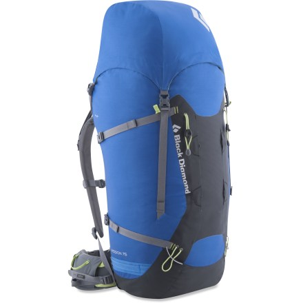 Camp and Hike The Black Diamond Mission 75 pack is an expedition-size gear hauler built specifically for climbing adventures in the mountains. Its fine-tuned suspension offers impressive freedom of movement. - $119.83
