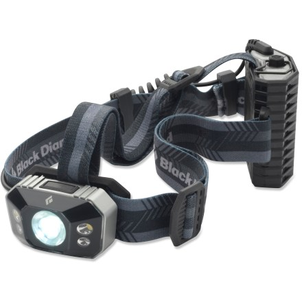 Camp and Hike Don't let the setting sun slow your progress. The professional-level Black Diamond Icon headlamp features a massive 200-lumen output to light up the darkest trails, campsites and rappel stations. - $39.93