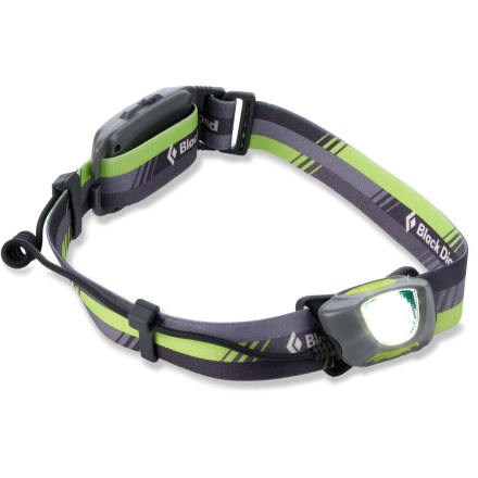 Camp and Hike Don't let darkness limit your running routine. With the Black Diamond Sprinter headlamp, you can keep your training goals clearly in view. - $51.93