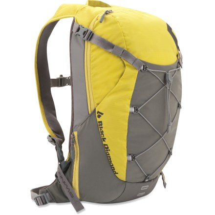 Camp and Hike The lightweight Black Diamond EXL pack is a prime choice for fast trail pursuits and ridge scrambles with all-day comfort, clean design and the perfect volume for your essential gear. - $49.93