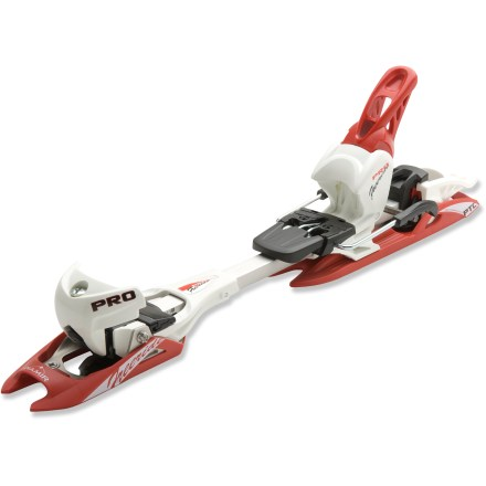 Ski The Fritschi Diamir Freeride Pro randonee bindings are lightweight and ready to tour, but rip down the slopes like performance downhill bindings. - $404.73