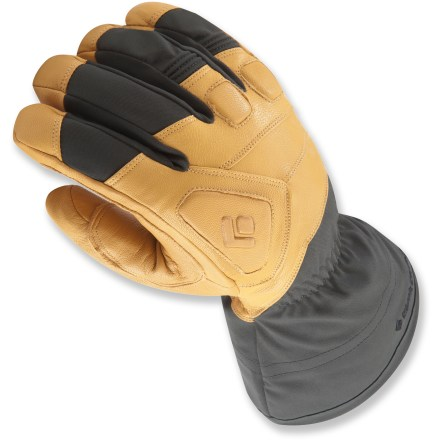 Ski Rest assured your hands will be comfortable when the conditions turn ugly in the mountains with the Black Diamond Guide gloves. They are the warmest professional-grade gloves Black Diamond makes. - $84.83