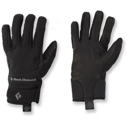 Fitness When you're out for a run or on the approach to a winter climb, the lightweight Black Diamond Pilot soft-shell gloves will keep your fingers comfortable and maintain good dexterity. - $14.83
