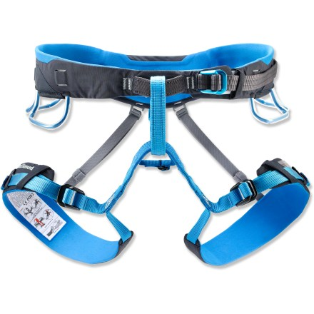 Climbing The all-purpose Black Diamond Aspect climbing harness is designed for year-round adventures, from ice climbing in Ouray, Colo., to the warm weather and splitter cracks in Indian Creek, Utah. - $79.95