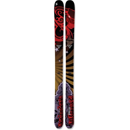 Ski Find the deepest, freshest powder and charge in with the fully rockered Blizzard Bodacious skis. - $399.83