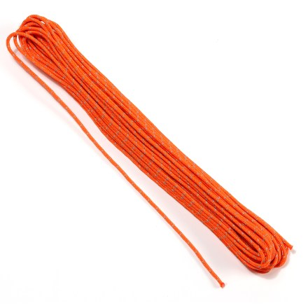 Climbing BlueWater 3mm NiteLine accessory cord features a single reflective strand for excellent visibility in low light. - $16.95