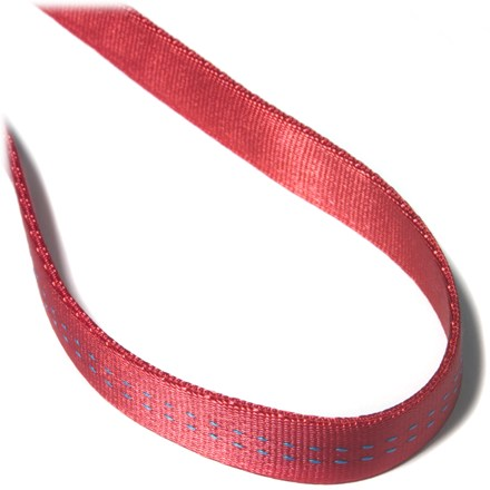 Climbing Use this tubular webbing for making your own runners or etriers, for anchoring or using as a sling. - $0.30