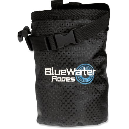 Climbing Keep your hands dry while working your way up a difficult climbing route with the BlueWater Spark chalk bag. - $7.93