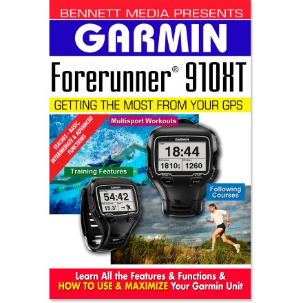 Camp and Hike The BMV Garmin Forerunner 910XT Instructional DVD helps you get the most out of your GPS. This video will have you quickly trained and navigating like a pro. - $5.83