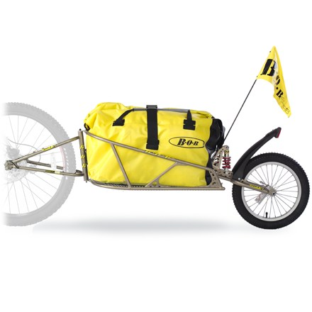 Fitness This rugged bike trailer features an adjustable suspension system that assists in controlling your cargo so you can extend your off-road-adventure possibilities. - $262.93