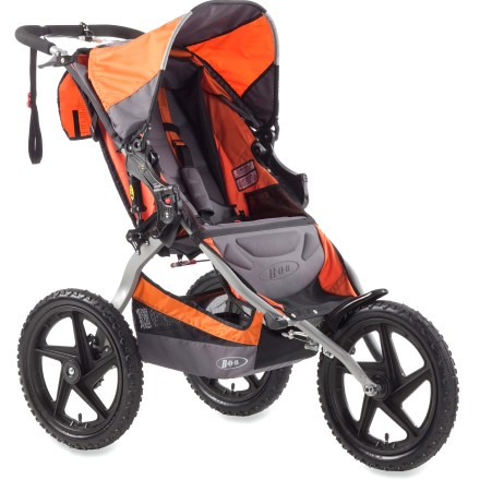 Fitness The versatile BOB Sport Utility stroller is built for off-road strolling, so you can take your child with you on your jaunts that happen to venture off the beaten paths. - $312.00