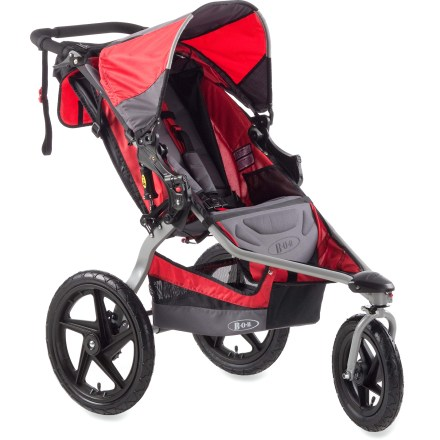 Fitness BOB Strides Fitness stroller comes decked out with extras, including BOB handlebar console, exercise bands and exercise manual so you can make the most of your stroller excursions. - $306.93