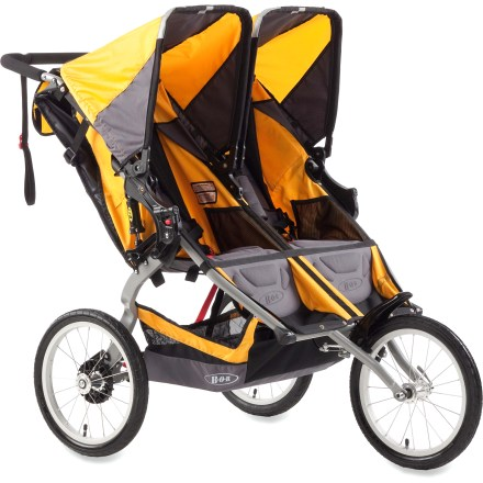 Fitness The BOB Ironman Duallie stroller carries 2 children comfortably and securely as you take it to the next level in your training or fitness regimen. - $456.00