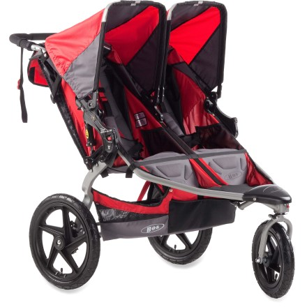 Fitness Bring both kids along on your workouts with an easy-to-handle fitness stroller decked out with a handlebar console, lots of storage and even a fitness kit with exercise bands and an exercise manual. - $552.00