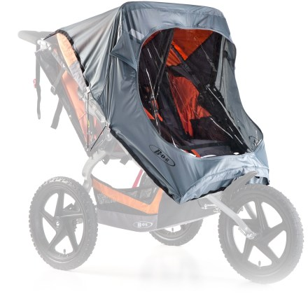 Fitness Offering protection from the weather, the BOB Sport Utility Duallie Stroller weather shield helps keep passengers comfortable and out of the elements. - $43.93