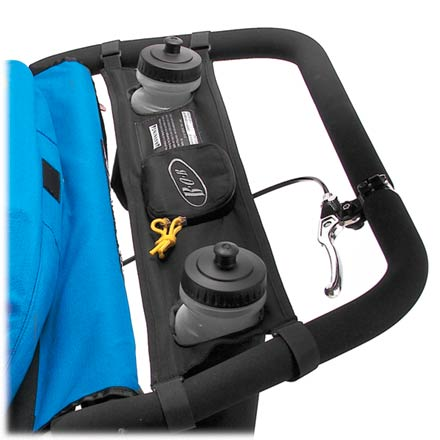 Fitness The Handlebar Console straps between the sides of your BOB single-stroller handlebar and keeps your water bottles and other small items easily accessible as you run. - $25.00