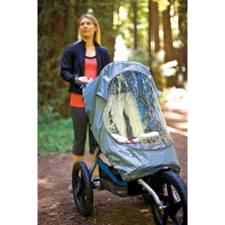 Fitness The BOB Sport Utility / Ironman Stroller weather shield offers protection from inclement weather, helping keep rain and wind at bay. - $34.93