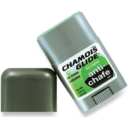 Fitness Say goodbye to chamois cream mess! Bodyglide introduces the travel-size 0.45 oz. Chamois Glide balm in a stick applicator. - $3.93