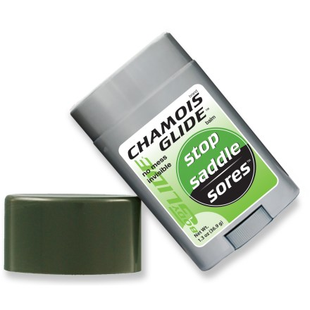 Fitness Say goodbye to chamois cream mess! Bodyglide introduces the travel-size 1.5 oz. Chamois Glide balm in a stick applicator. - $10.00