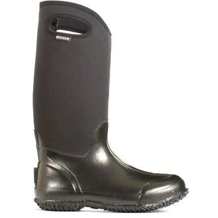 The women's Classic High Handles insulated rain boots from Bogs elevate the traditional rubber rain boot to a whole new level, with insulating neoprene to keep toes cozy in sub-freezing temperatures. - $120.00