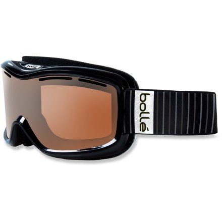 Ski Sleek styling and a high-performance polarized lens make the women's Bolle Monarch Polarized snow goggles a reliable choice for the snowy days ahead. - $41.93
