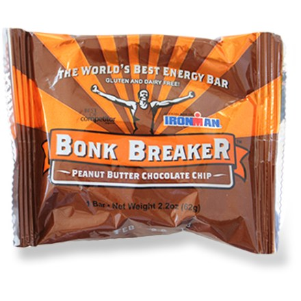 "Camp and Hike The ""Official Energy Bar of Ironman(R),"" Bonk Breaker gives you the sustained energy you need, and a taste you'll crave even after your workout. - $2.75"