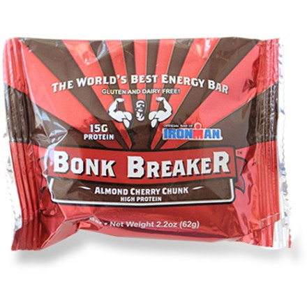 Camp and Hike The Bonk Breaker High Protein energy bar is packed with 15g of protein. Building muscle has never tasted so good! - $3.00