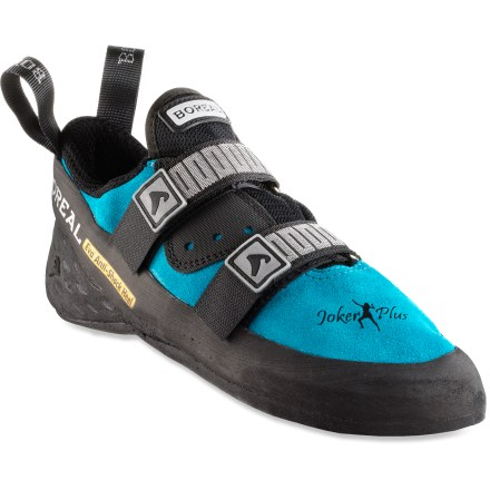 Climbing Whether you're grabbing holds at the gym or placing gear on a classic multipitch route, you'll find the women's Boreal Joker Plus Strap Rock Shoes to be the ideal blend of comfort and performance. - $48.93